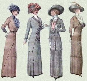 1910. Antique Fashion Magazine
