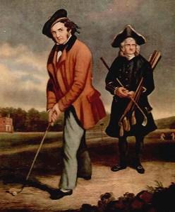 1860 -61. Mr. Francis Bennoch, Captain. The Royal Bkackheath Golf Club