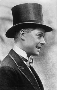 1932. Príncipe de Gales, futuro Rey Eduardo VIII.