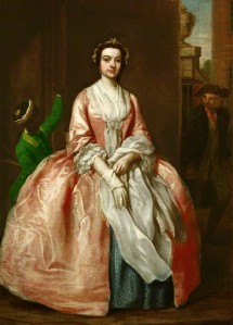 NPG 2177; Unknown woman, formerly known as Peg Woffington attributed to Francis Hayman