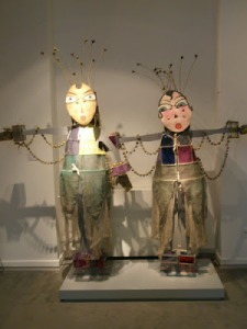Lavinia Schulz y Walter Holdt. Vestuarios máscara