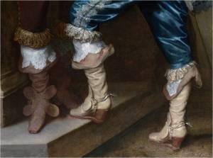 1628. Van Dyck. Lord John y Lord Bernard Stuart (detalle)