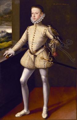 1574. Sánchez Coello. Arquiduque Wenzel de Austria