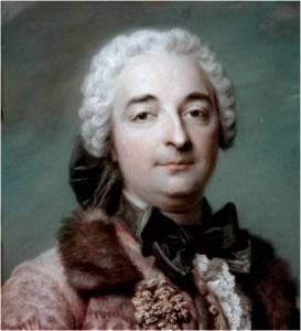 1743. Quentin de la Tour. El conde de Villars, Gobernador de Provenza (detalle)