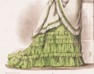 "1877. ""La France Elegant"" (detalle)"