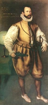 1570. Cornelius Ketel. Retrato de Martin Frobisher