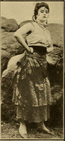 Theda Bara in 'Carmen'