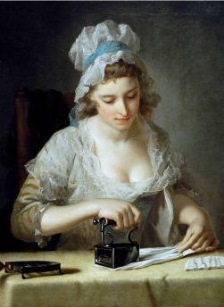 henry-morland-laundry-maid-ironing-ca-1785